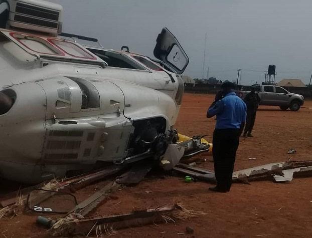 osinbajo hospitalised plane crash