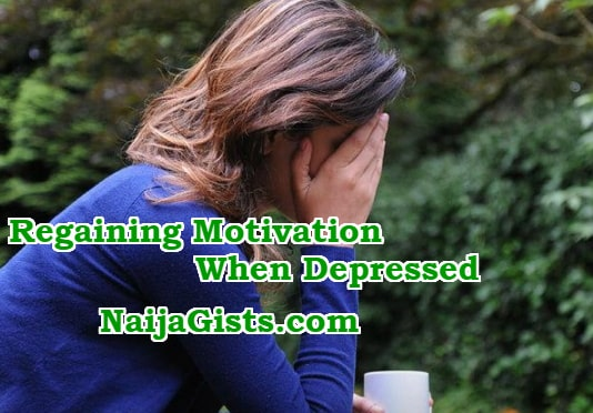 regaining motivation when depressed