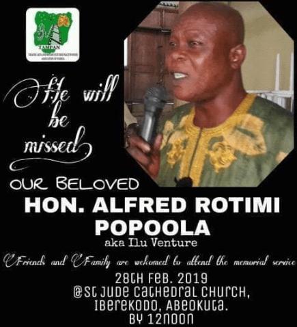 rotimi popoola dead