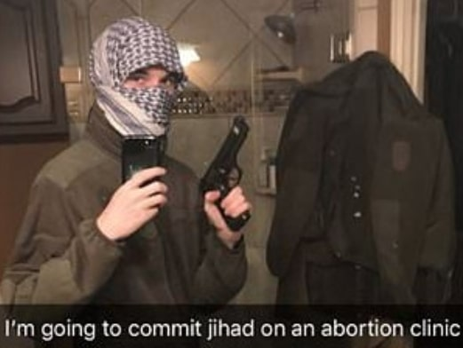 texas boy carry out terrorist attack abortion clinic