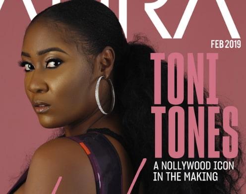 toni tones magazine cover girl