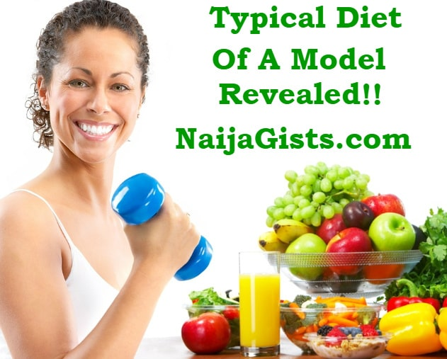 typical diet of models