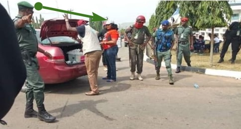 civil servant arrested 5000 pvc abia state