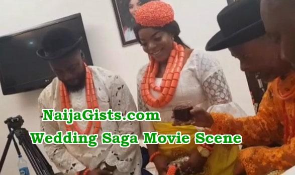 wedding saga nollywood movie