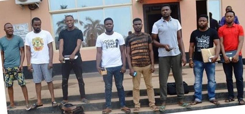 yahoo boys arrested bashorun ibadan