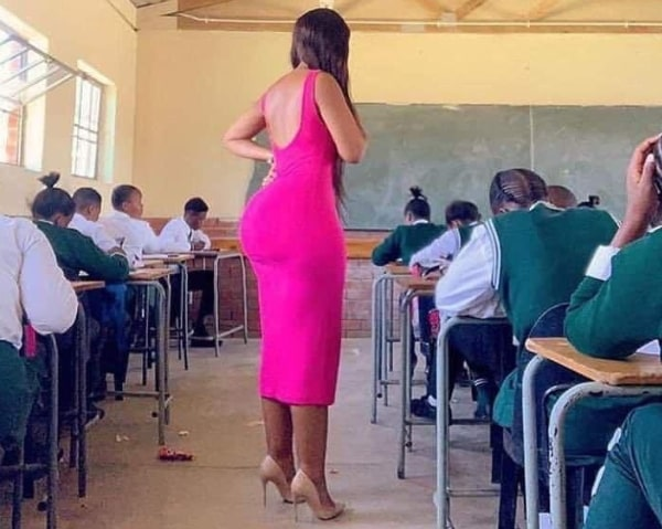 zambian model classroom photo
