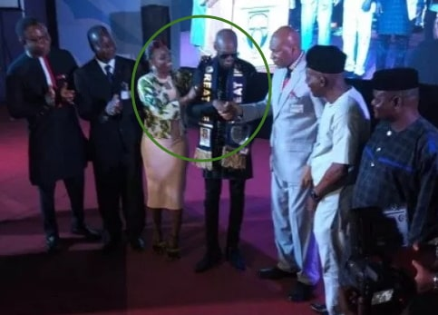 2face idibia music fellowship award oau