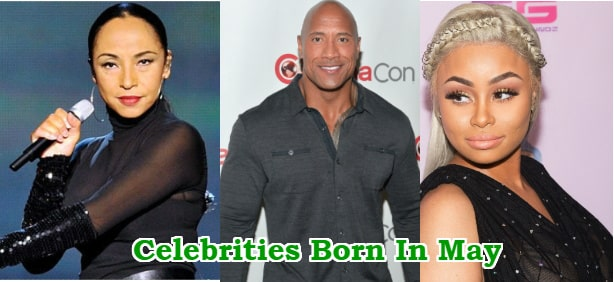 black celebrities born in may