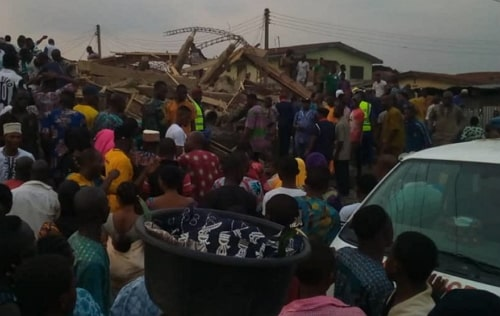 building collapsed ibadan today
