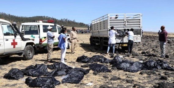 burnt remains 157 died ethiopian plane crash