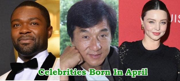 celebrities born in april