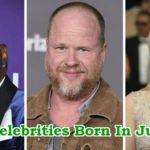 Celebrity Birthdays In June: Popular Celebrities Born In June
