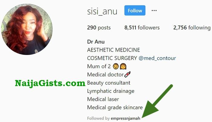 dr anu instagram handle