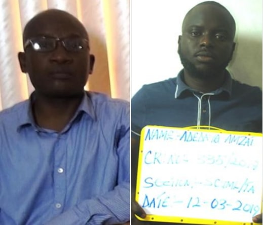 fake efcc officers arrested