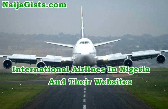 international airlines nigeria websites
