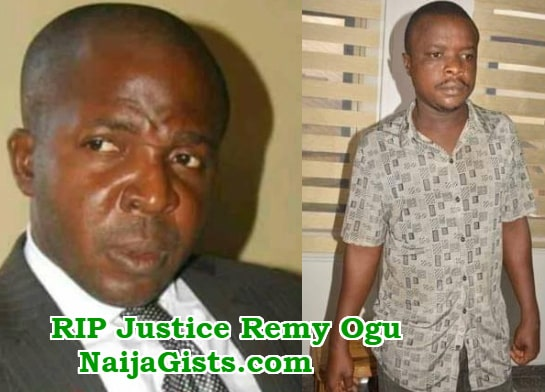 justice remy ogu killer arrested