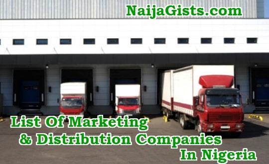 list of marketing distribution companies in nigeria