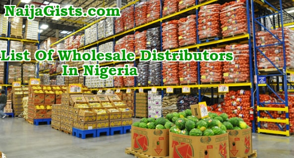 list of wholesale distributors in nigeria