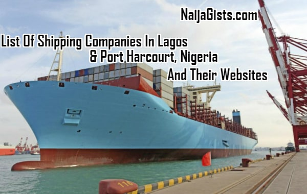 list shipping companies in lagos nigeria websites