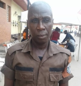 military officer collected bribe lagos