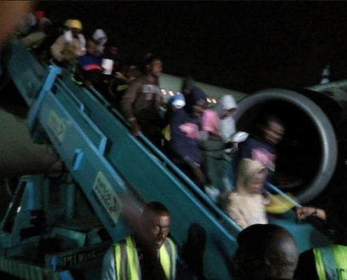 new batch nigerians stranded libya return