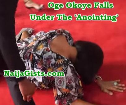nigerian actress oge okoye visit lukau church