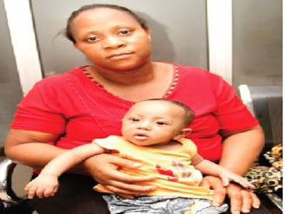 nigerian baby born with heart hole
