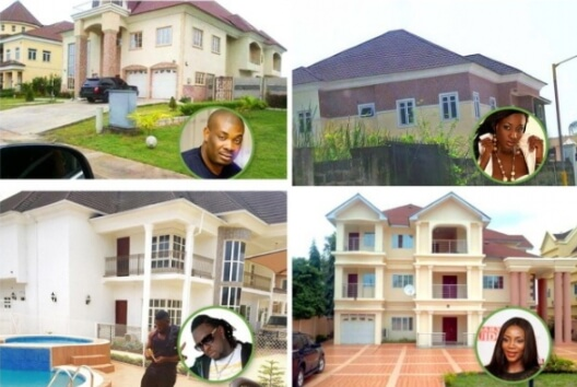 nigerian celebrities mansions houses 2019