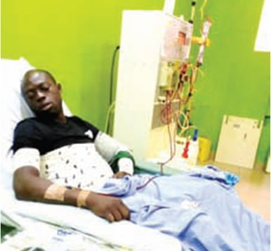 nigerian diagnosed kidney disease south africa