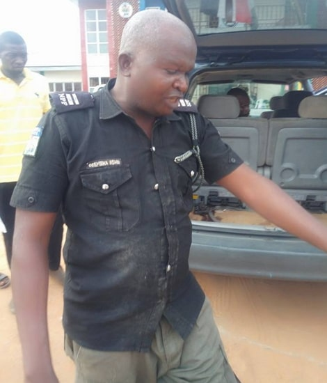 nigerian policeman rescued from kidnappers