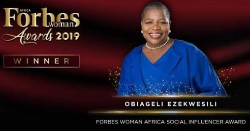nigerian wins forbes africa awards