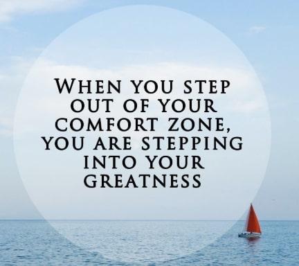 quotes comfort zones