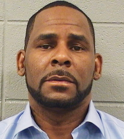 r kelly arrest mugshot