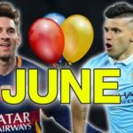 Soccer Players Birthdays In June: 90 Footballers Born In June & Their Date Of Birth
