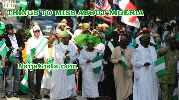 things nigerians living abroad miss nigeria
