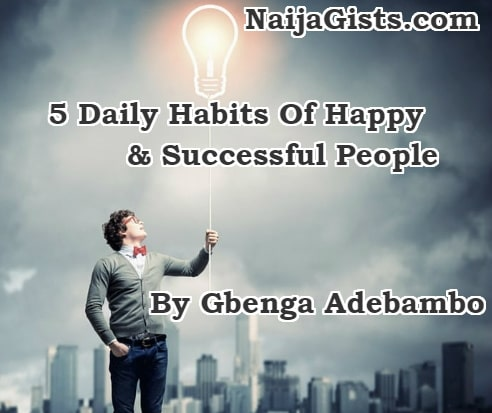5 daily habits successful people