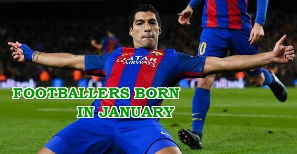 footballers born in january