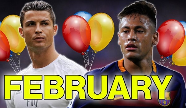 Footballers Born In February