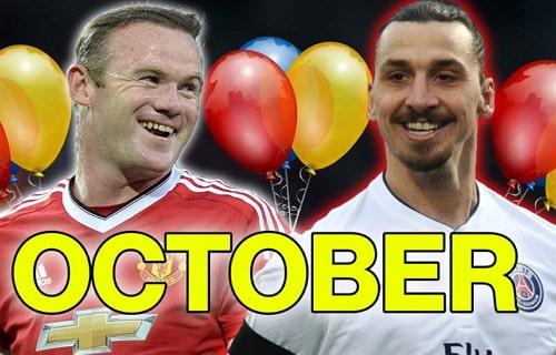 Footballers Born In October