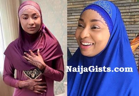 belinda effah converts muslim hausa movie