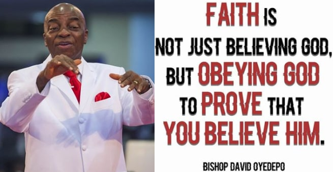 bishop oyedepo quotes faith