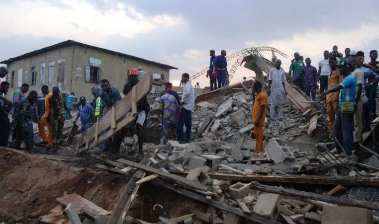 building collapses jericho ibadan
