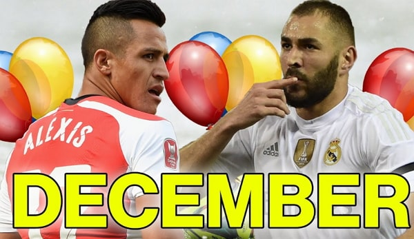footballers born christmas day december 25