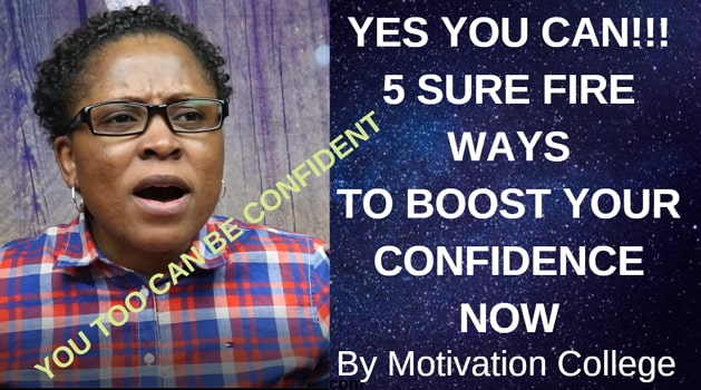 how to boost self confidence video
