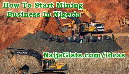 how to start gold mining business nigeria