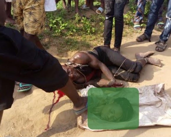 islamic cleric beheads mosque member ritual
