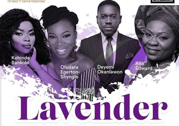 lavender stage play