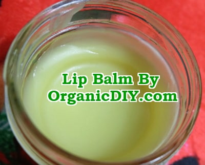 lip balm diy recipe