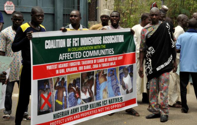 nigerian army seize land abuja indigene
