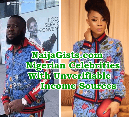 nigerian celebrities income sources